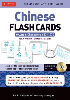 Chinese Flash Cards Kit By Lee, Philip Yungkin/ Yang, Jun (EDT)